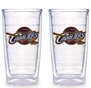 Cleveland Cavaliers Set of TWO 16 oz. Tervis Tumblers