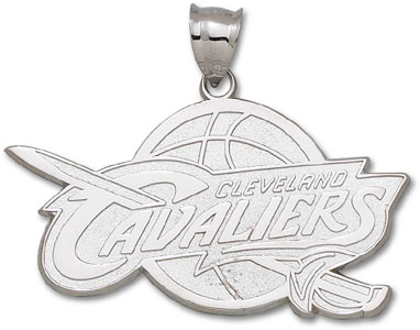 Cleveland Cavaliers Sterling Silver Pendant