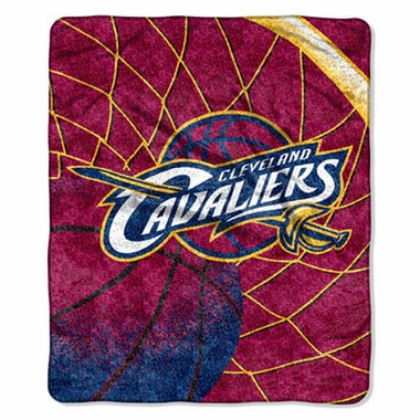 Cleveland Cavaliers Super-Soft Sherpa Blanket