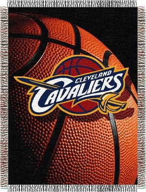 Cleveland Cavaliers Woven Tapestry Blanket