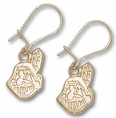 Cleveland Indians 10K Gold Post or Dangle Earrings