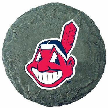 """Cleveland Indians 13.5"""" Stepping Stone"""
