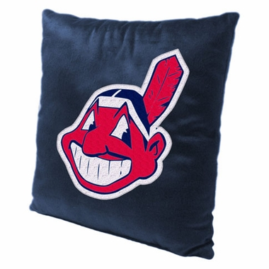 Cleveland Indians 15 Inch Applique Pillow