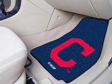 Cleveland Indians 2 Piece Car Mats