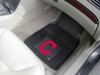 Cleveland Indians 2 Piece Heavy Duty Vinyl Car Mats