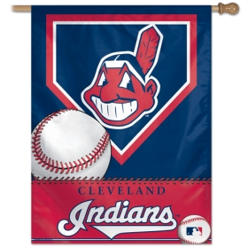 "Cleveland Indians 27"" x 37"" Banner"