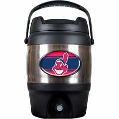 Cleveland Indians 3 Gallon Stainless Steel Jug
