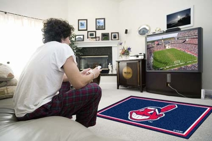 Cleveland Indians 4 Foot x 6 Foot Rug