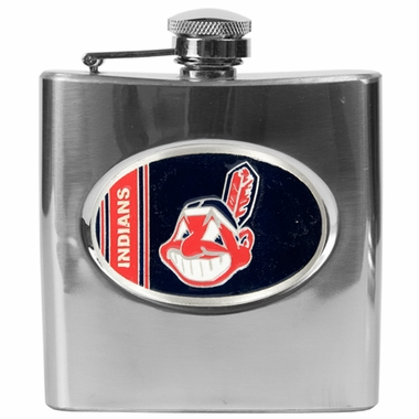 Cleveland Indians 6 oz. Hip Flask
