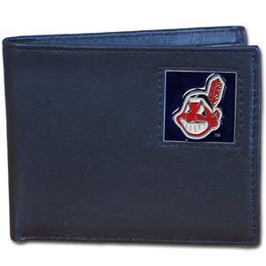 Cleveland Indians Bifold Wallet (F)