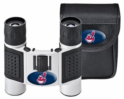 Cleveland Indians Binoculars and Case
