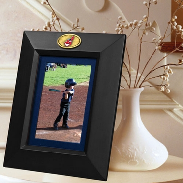 Cleveland Indians BLACK Portrait Picture Frame