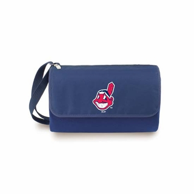 Cleveland Indians Blanket Tote (Navy)