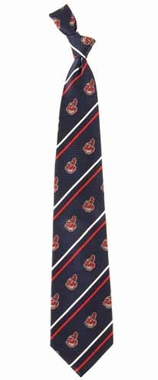 Cleveland Indians Cambridge Woven Silk Necktie