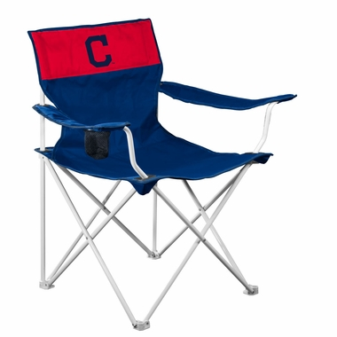 Cleveland Indians Canvas Adult Folding Logo Chair