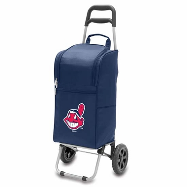 Cleveland Indians Cart Cooler (Navy)