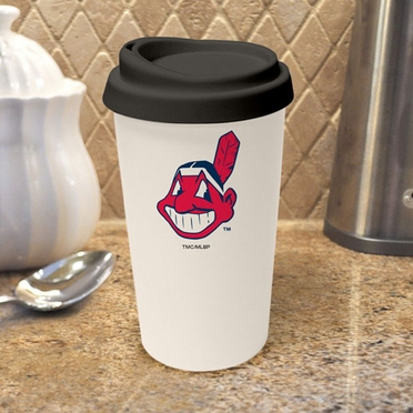 Cleveland Indians Ceramic Travel Cup