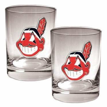 Cleveland Indians Double Rocks Set