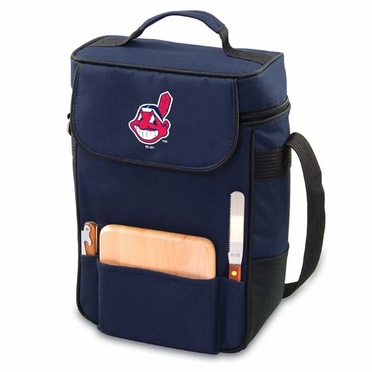 Cleveland Indians Duet Compact Picnic Tote (Navy)