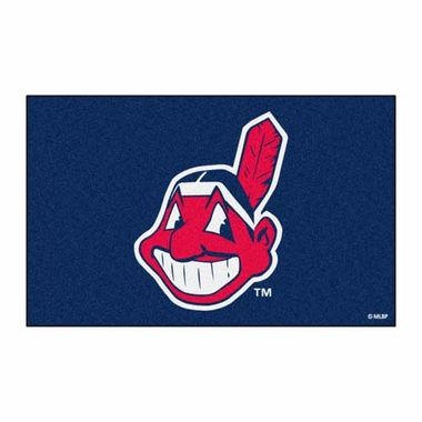 Cleveland Indians Economy 5 Foot x 8 Foot Mat
