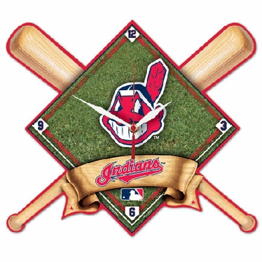 Cleveland Indians High Definition Wall Clock