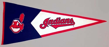 Cleveland Indians Large Wool Pennant