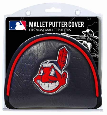 Cleveland Indians Mallet Putter Cover