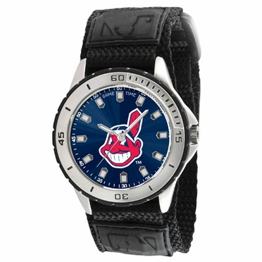 Cleveland Indians Mens Veteran Watch