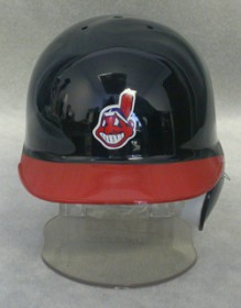 Cleveland Indians Mini Batting Helmet