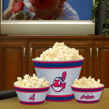 Cleveland Indians Plastic Serving Set