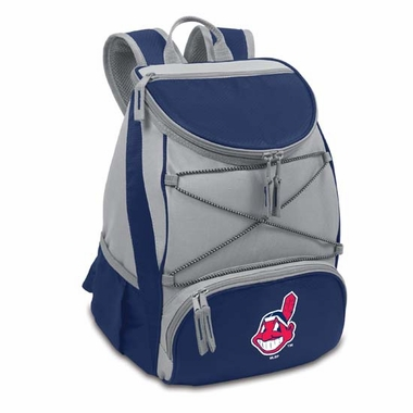 Cleveland Indians PTX Backpack Cooler (Navy)