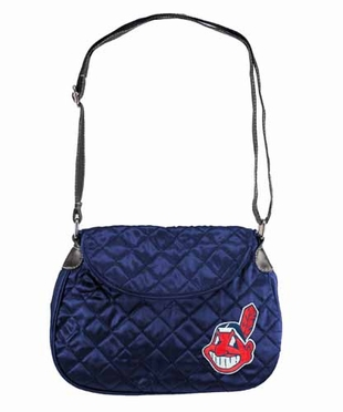 Cleveland Indians Quilted Saddlebag