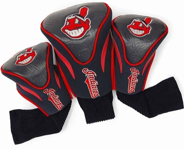 Cleveland Indians Set of Three Contour Headcovers