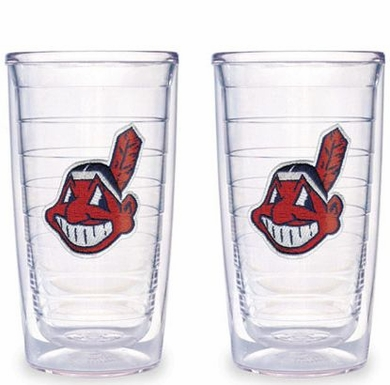 Cleveland Indians Set of TWO 16 oz. Tervis Tumblers