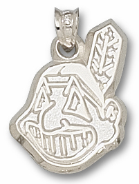 Cleveland Indians Sterling Silver Pendant