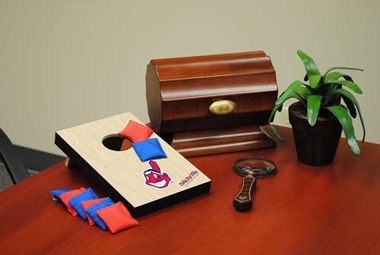 Cleveland Indians Table Top Toss (Wood Design)