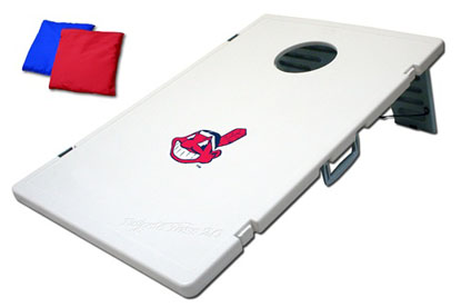 Cleveland Indians Tailgate Toss 2.0 Cornhole Beanbag Game