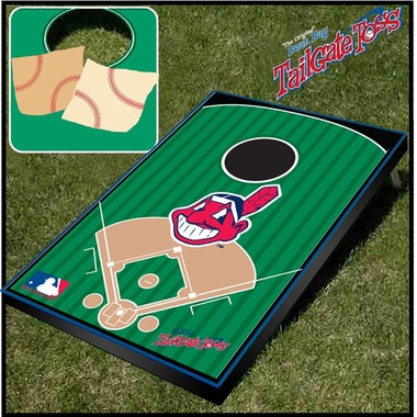 Cleveland Indians Tailgate Toss Cornhole Beanbag Game