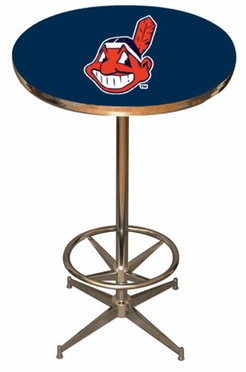 Cleveland Indians Team Pub Table