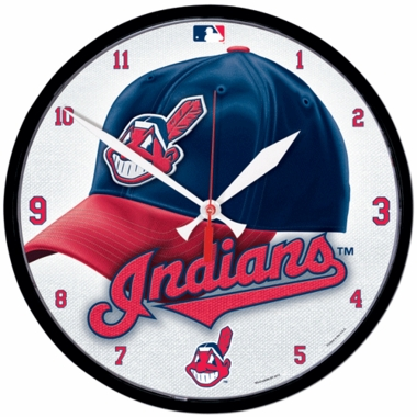 Cleveland Indians Wall Clock