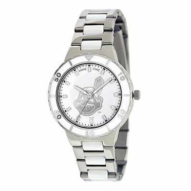Cleveland Indians Women's Pearl Watch