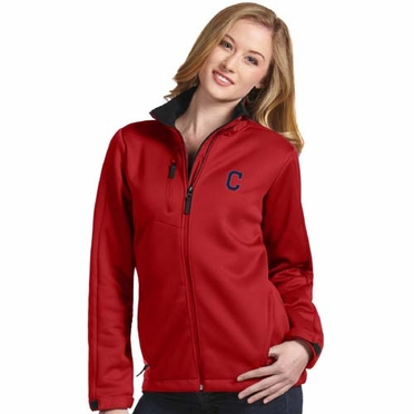 Cleveland Indians Womens Traverse Jacket (Team Color: Red)