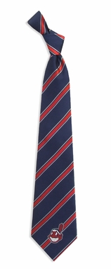Cleveland Indians Woven Poly 1 Necktie