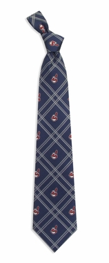 Cleveland Indians Woven Poly 2 Necktie