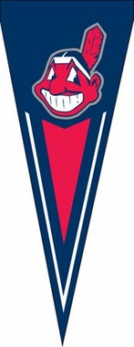 Cleveland Indians Yard Pennant