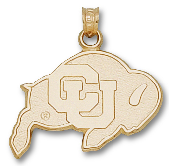 Colorado 14K Gold Pendant
