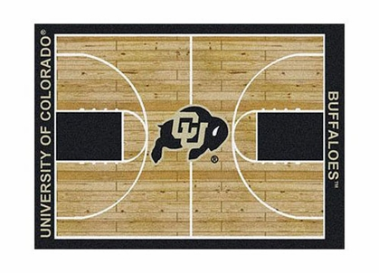 "Colorado 3'10"" x 5'4"" Premium Court Rug"
