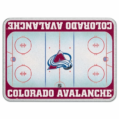 Colorado Avalanche 11 x 15 Glass Cutting Board