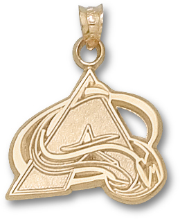 Colorado Avalanche 14K Gold Pendant