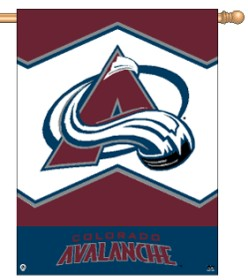 "Colorado Avalanche 27"" x 37"" Banner"